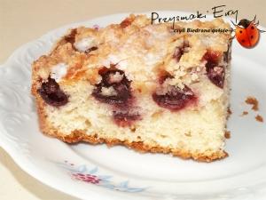 Ciasto - Owoce i kruszonka - błyskawiczne