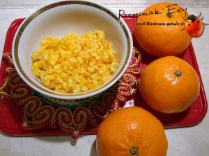 Skórka z mandarynki w lukrze - domowa receptura, idealna do ciast i deserów