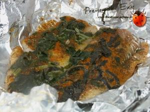 Pieczona ryba w ziołach